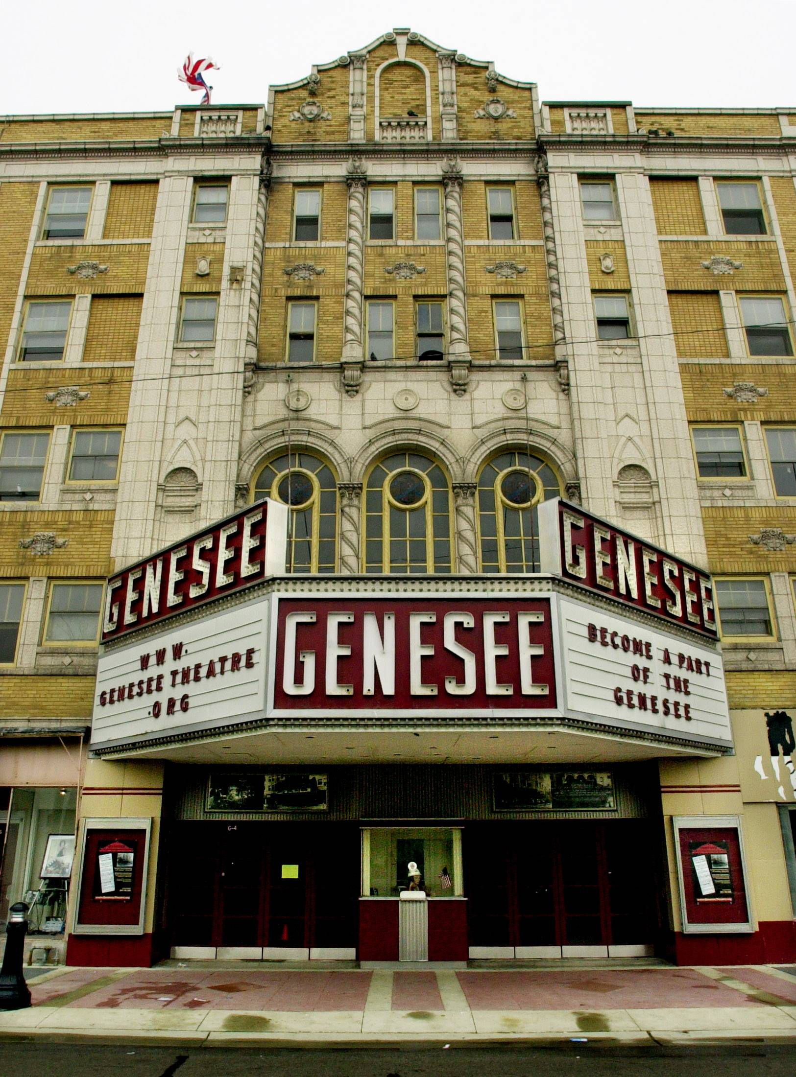 The Genesee Theatre in downtown Waukegan doesn't make a profit, but a nonprofit group keeps the doors open.