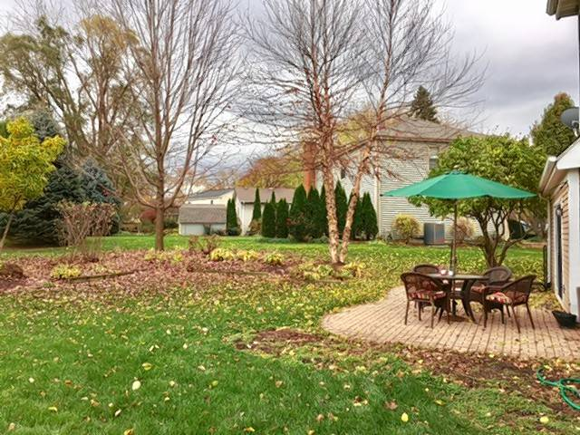 Mary Pritchard of Winfield recently purchased a home and seeks design advice for the nicely landscaped backyard.