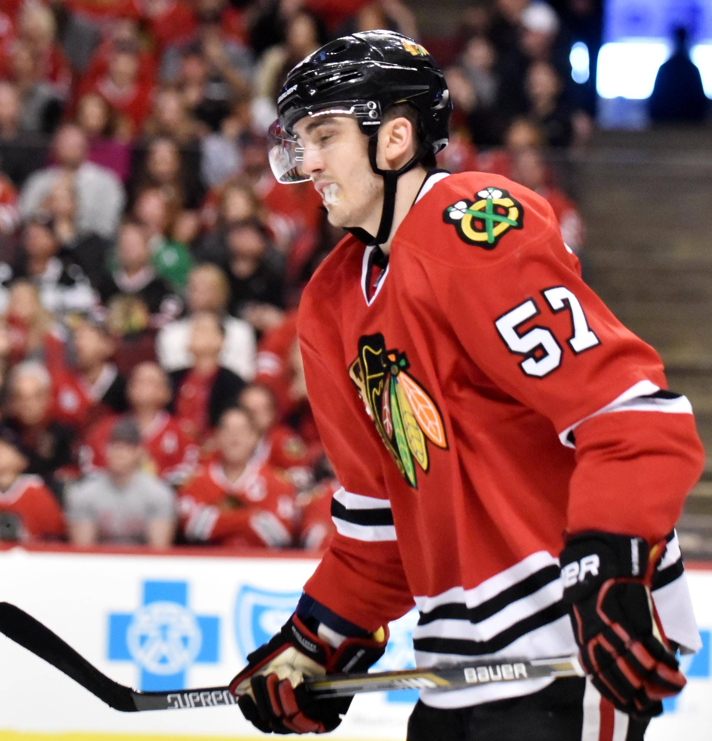 The Chicago Blackhawks did not protect young defenseman Trevor van Riemsdyk in the expansion draft, which means he likely will be selected by the Vegas Golden Knights.