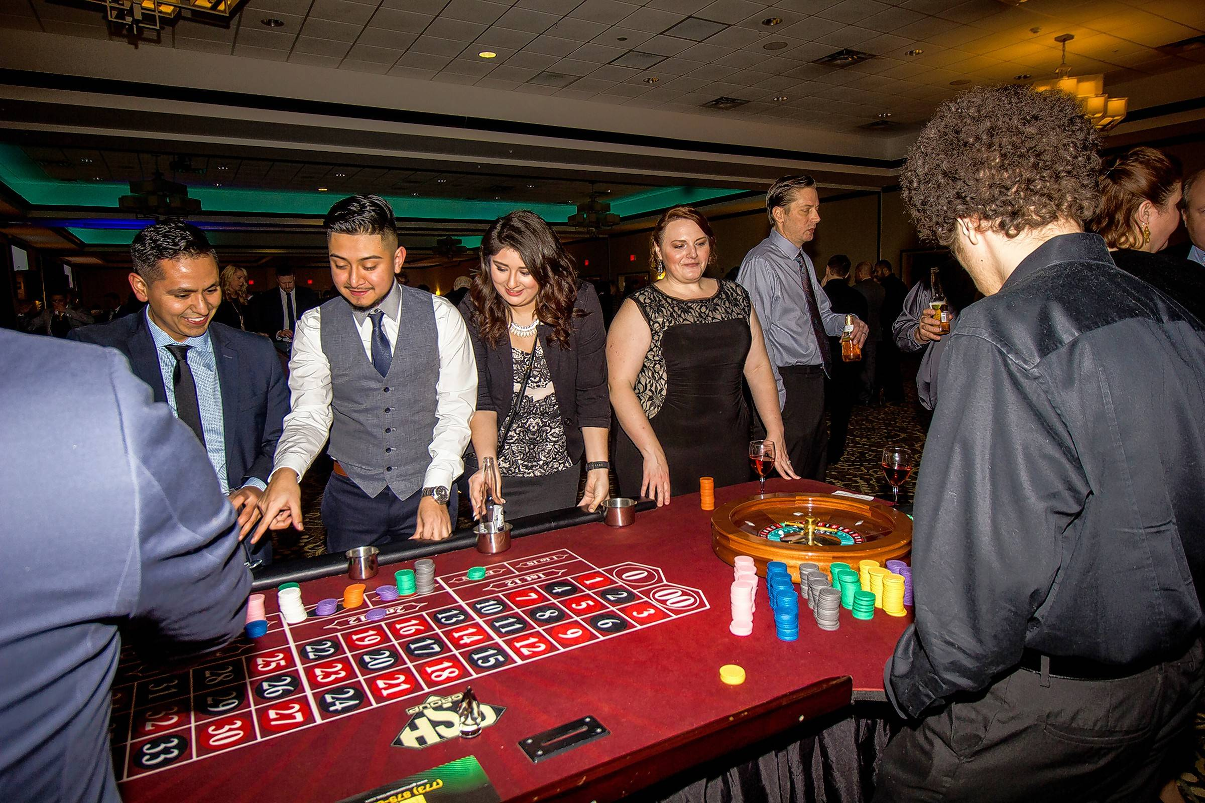 Adding a Vegas-style game night to event is sure to draw and keep a crowd and is a great way to change and spice up the typical fundraiser.