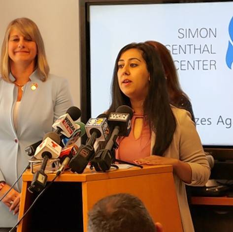 Attorney Sadia Covert of Naperville worked with 84th District state Rep. Stephanie Kifowit, left, to write an update to Illinois hate crimes law that gives victims more ways to seek restitution and damages. It also requires education for offenders about the specific community or group they targeted. The bill has passed the state House and Senate and Gov. Bruce Rauner's office says he intends to sign it once it arrives at his desk.