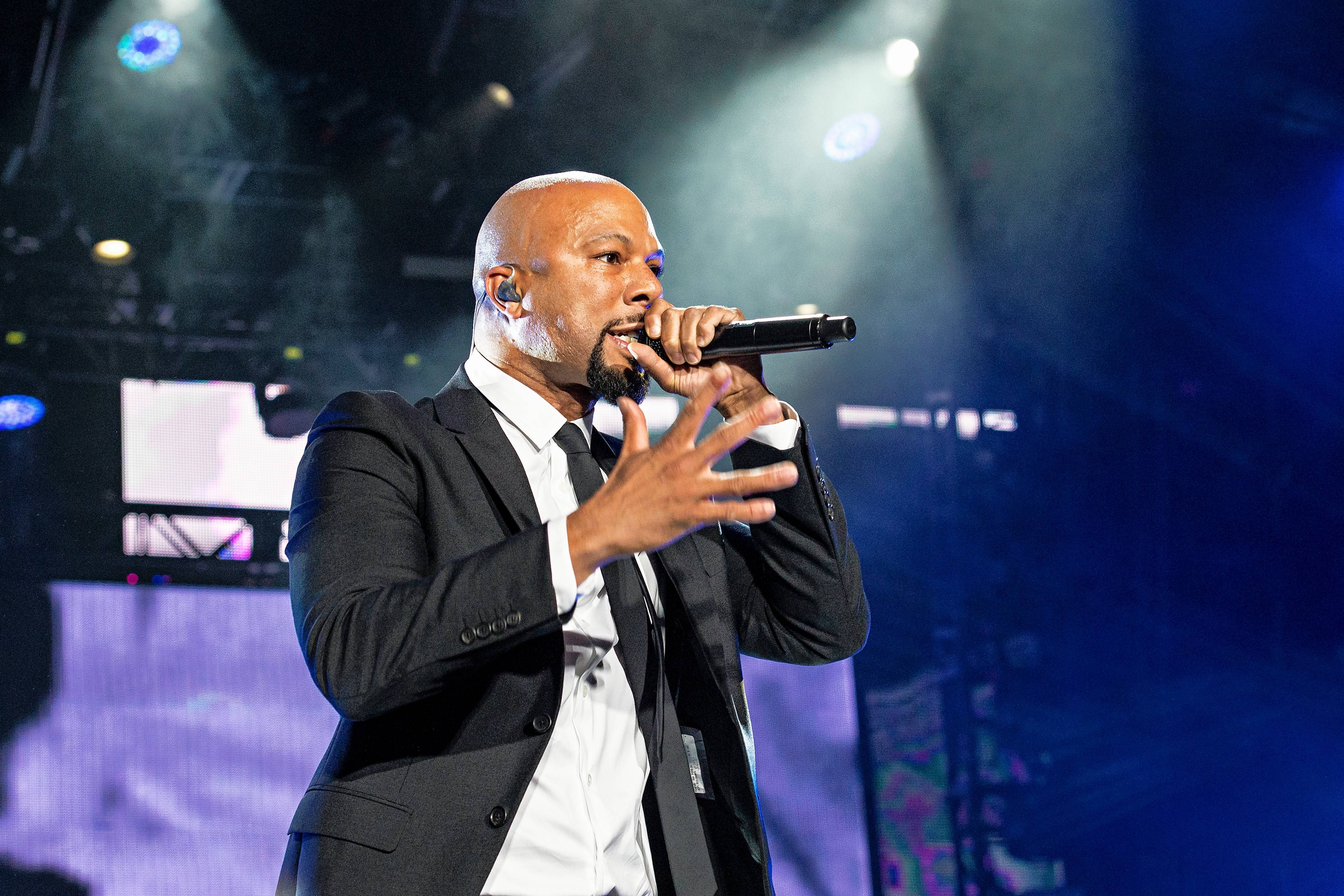 Rapper Common returns to the Chicago area for a show at Ravinia Festival Saturday, June 24.