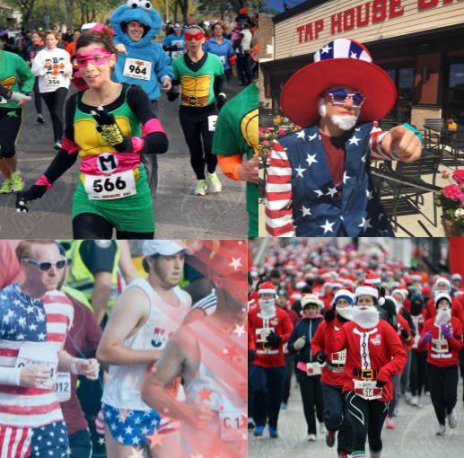 the 5ks and half marathons created and produced by adrenaline sports management have a special theme