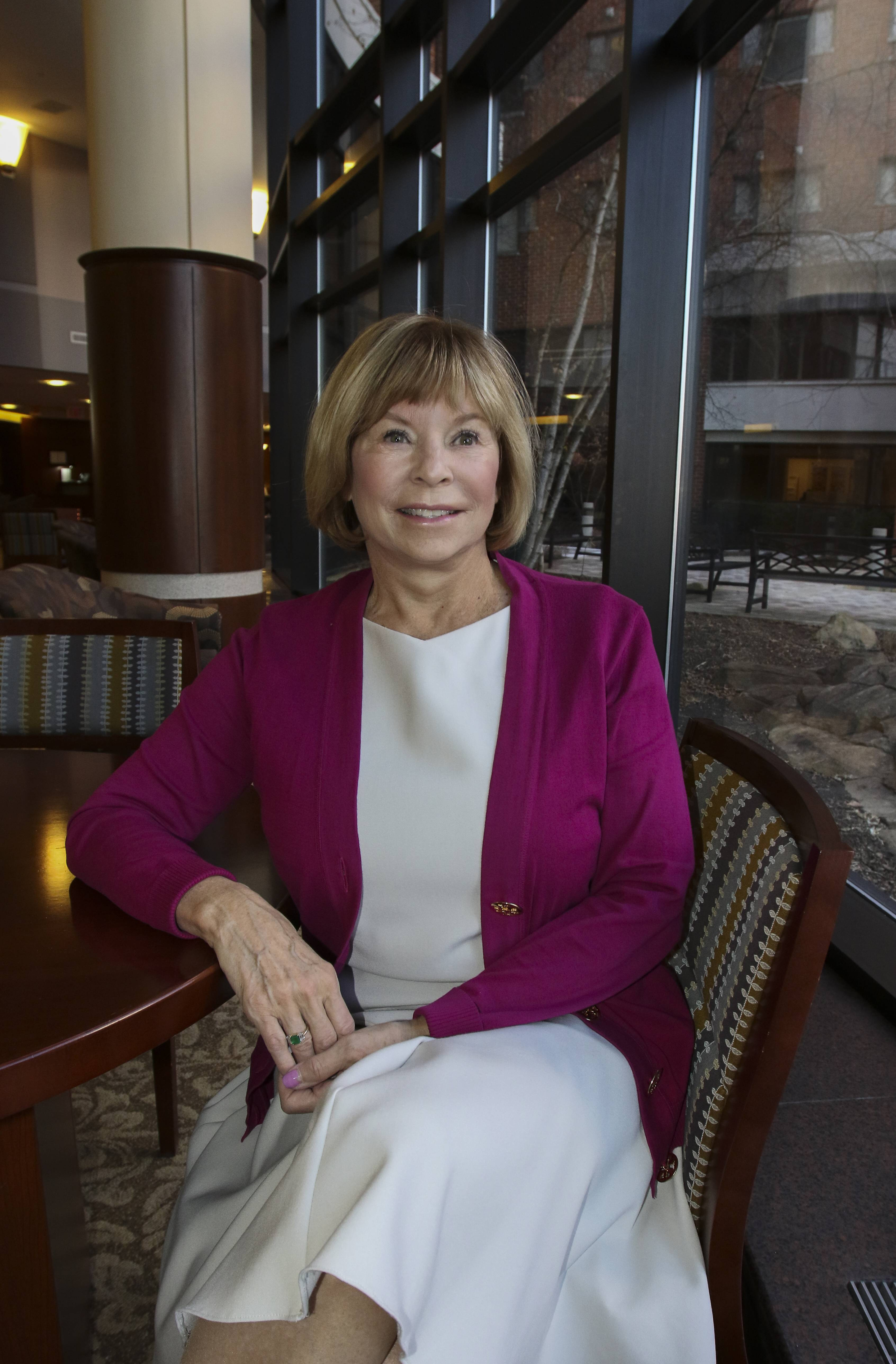 Retiring Naperville hospital CEO gets day in her honor