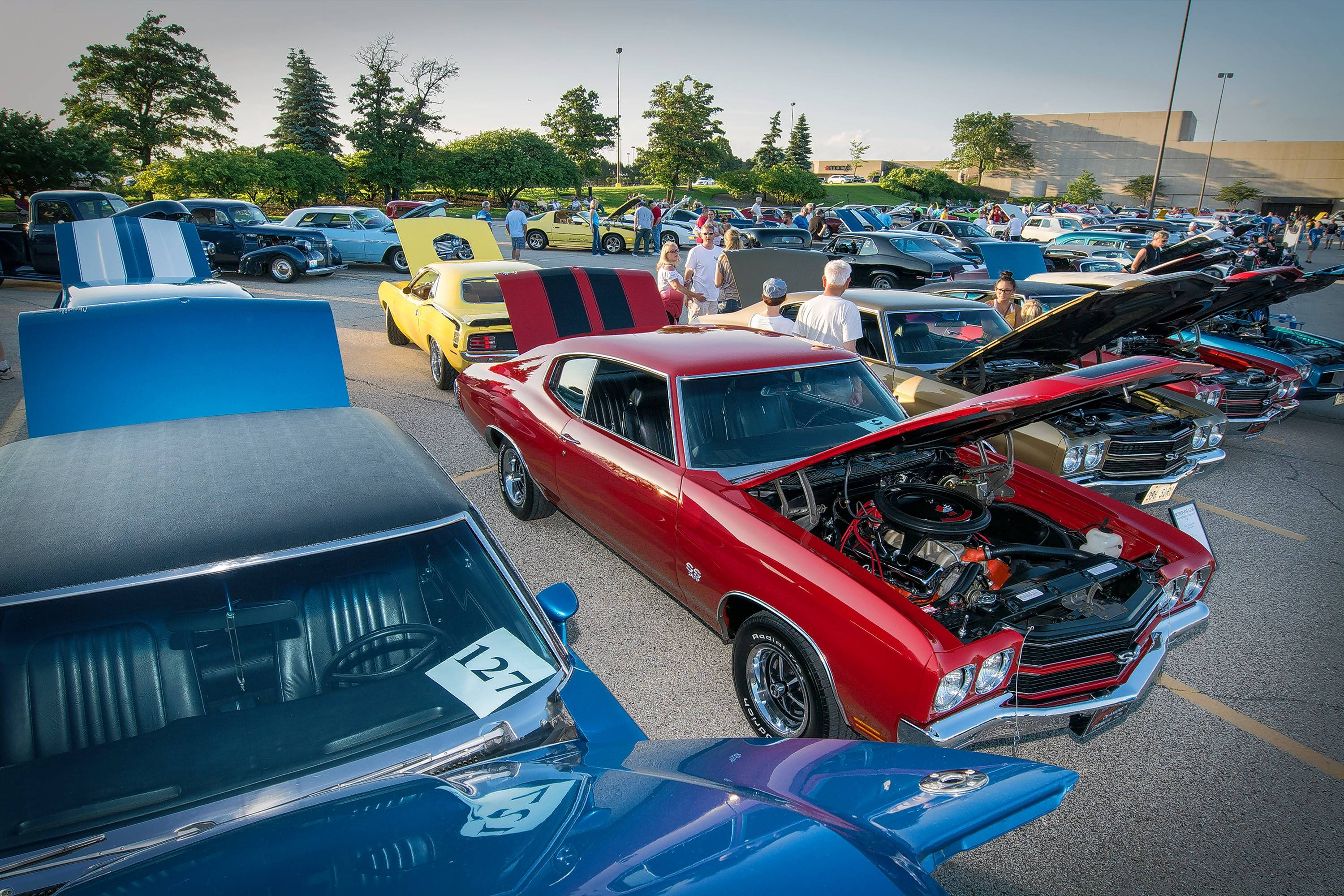 See classic cars at the Daily Herald Cruise Night, which returns to Stratford Square Mall in Bloomingdale.