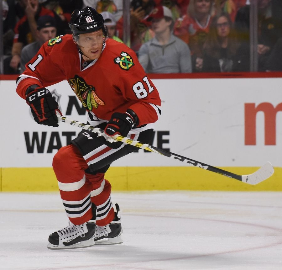 Chicago Blackhawks right wing Marian Hossa has a skin condition that will prevent him from playing with the team next season.