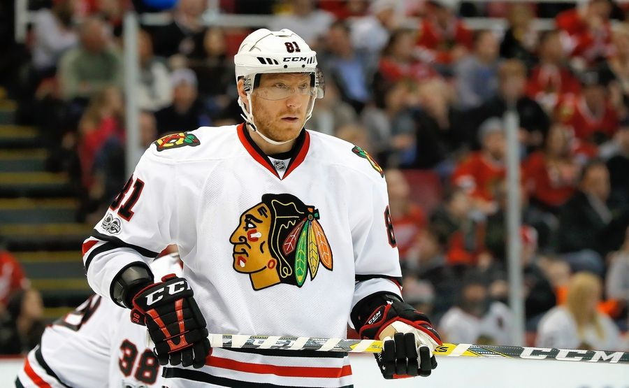 Chicago Blackhawks right wing Marian Hossa, 38, will not play next season due to complications from a skin disorder, he announced Wednesday morning.