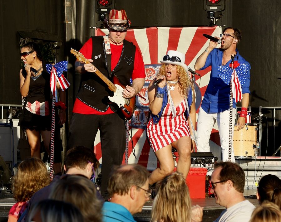 Libido Funk Circus will rock the crowd June 29 at the Live and Uncorked concert series at Blackberry Farm, Aurora.