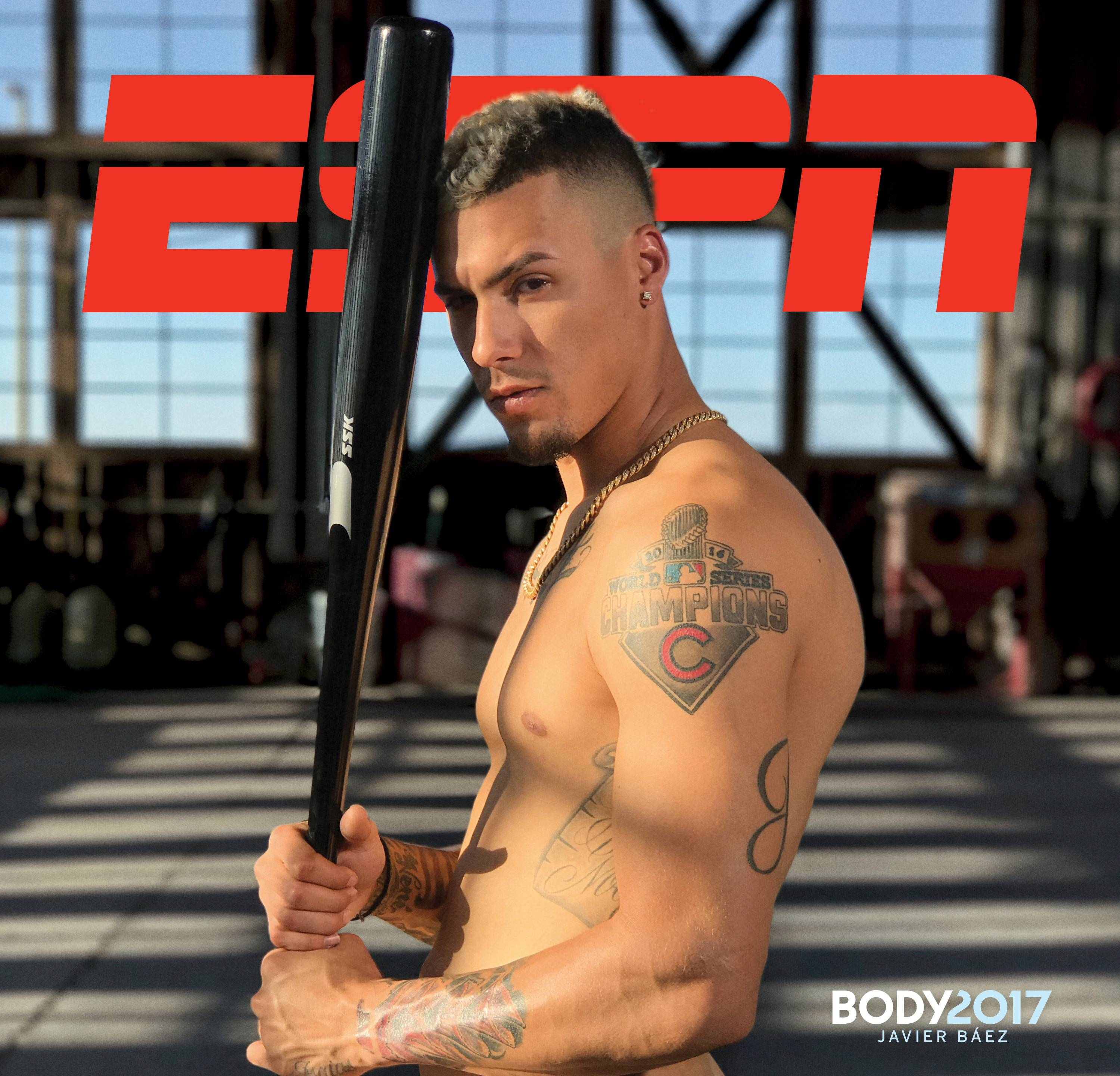 Constable: Javy Baez bares it all on ESPN magazine cover