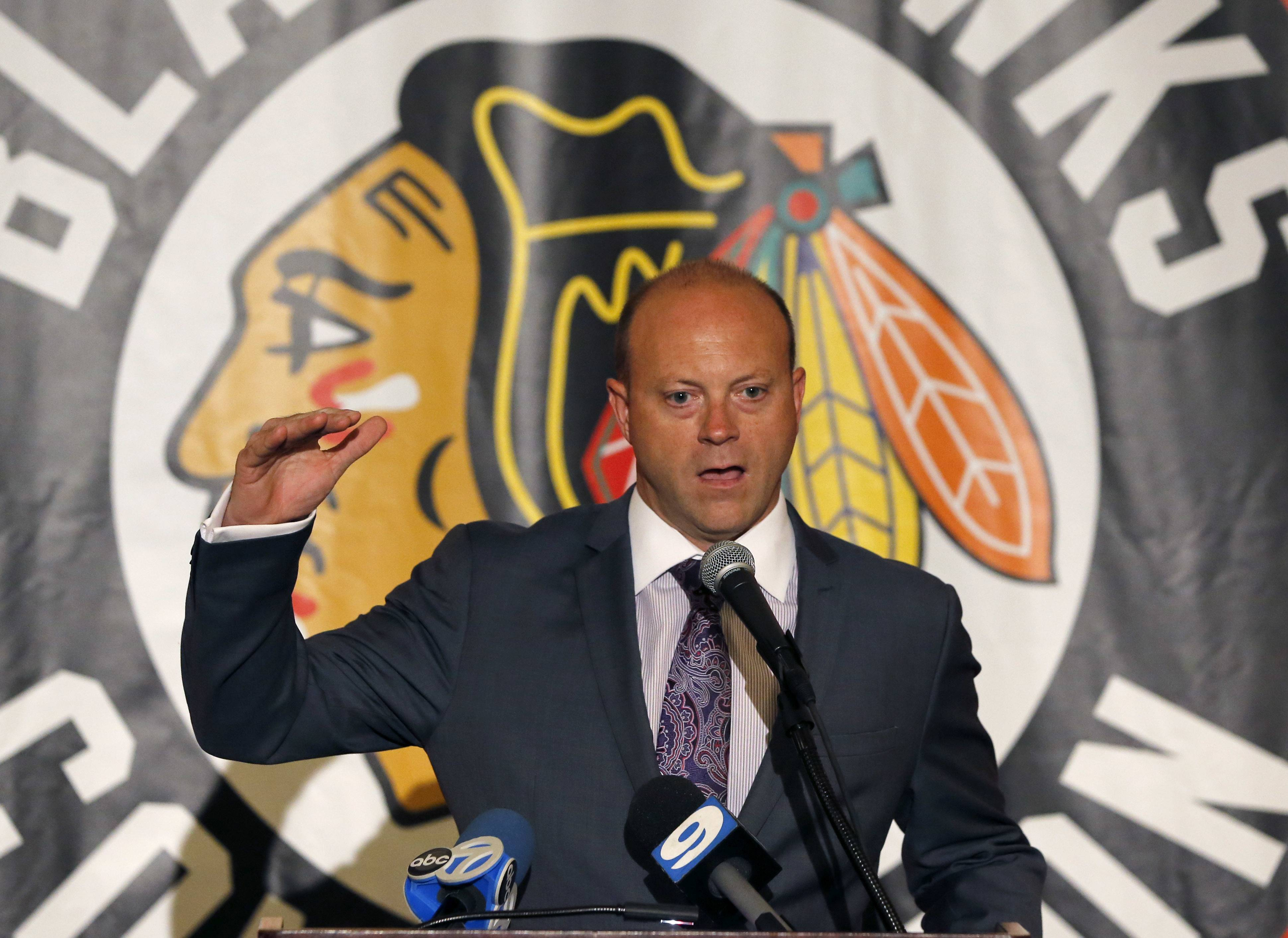 The Blackhawks and general manager Stan Bowman have the No. 26 pick in the first round of the tonight's NHL draft.