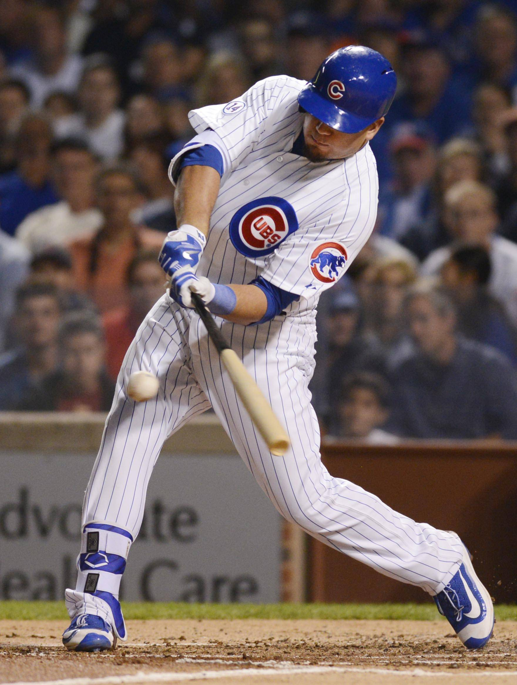 While Kyle Schwarber has hit 12 home runs this season, he is hitting just .171 with 75 strikeouts in 222 at-bats. The Cubs are sending him to their Class AAA team in Des Moines, Iowa.