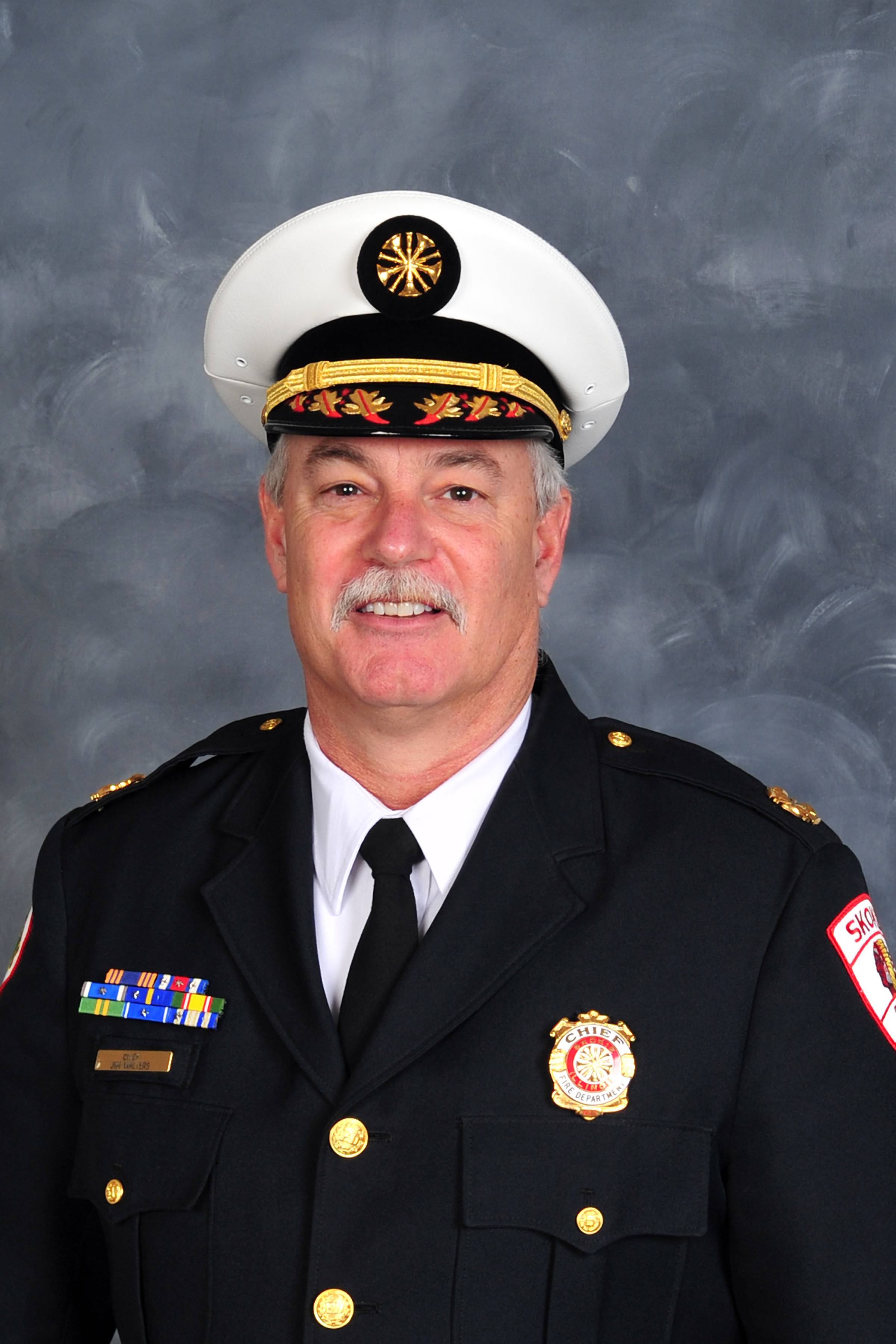 Village of Schaumburg Announces James G. Walters as New Fire Chief