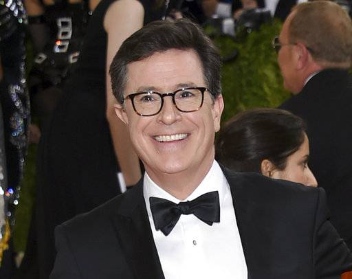 Colbert goes to Russia, vows to search for Comey 'tapes'