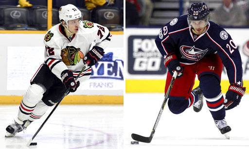 Blackhawks deal Panarin and Hjalmarsson, get Saad back