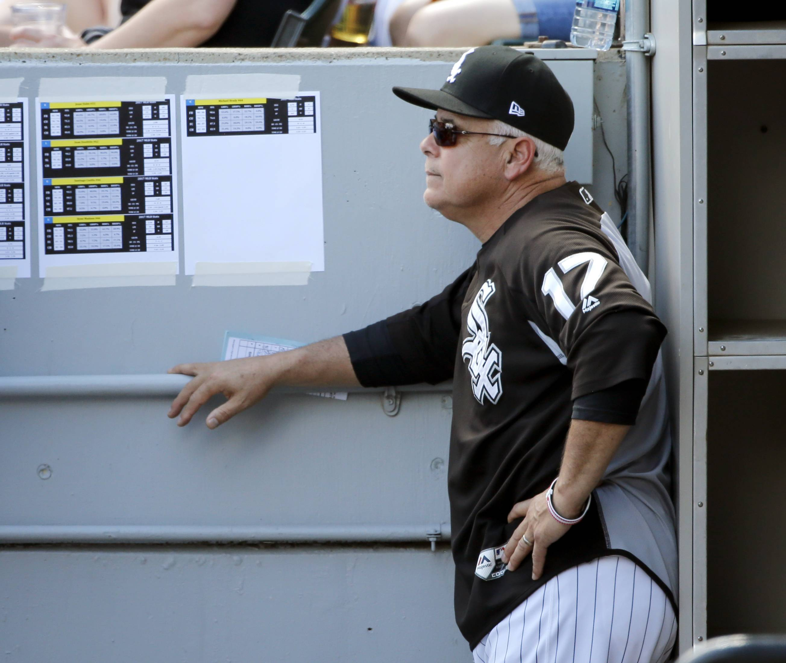 James Shields gave up the first career home runs to three different players, and manager Rick Renteria and third baseman Todd Frazier were both ejected Saturday in the Chicago White Sox's 10-2 loss to the Oakland A's.