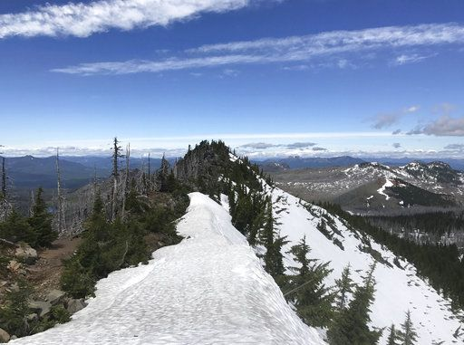 Wet winter ups the ante for hikers on popular US trail