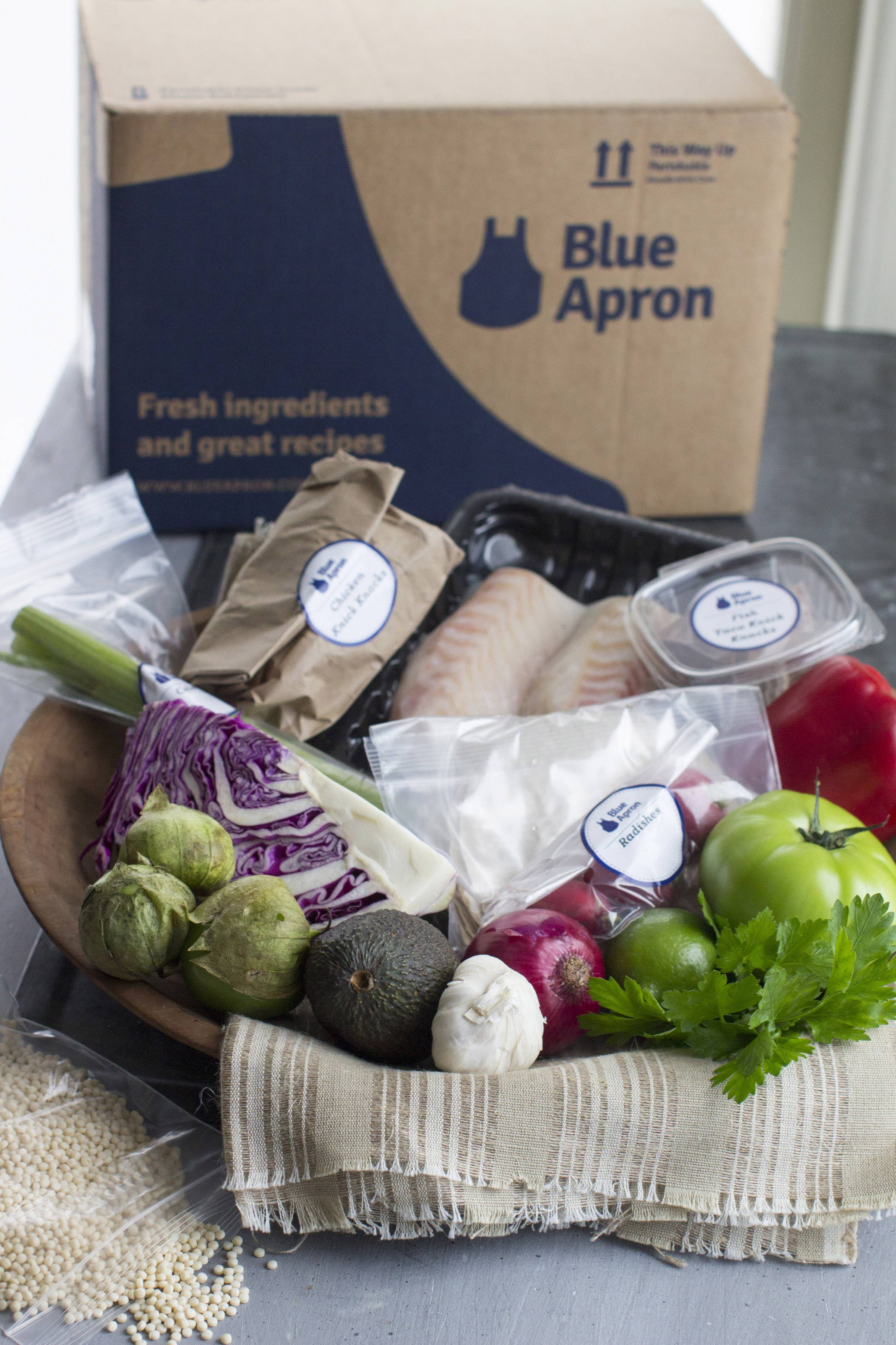The real reason Blue Apron's meal kits are so expensive has little to do with what's in the box. Industry analysts estimate that between 20 and 30 percent of the price of a meal kit is spent just getting it to your house.