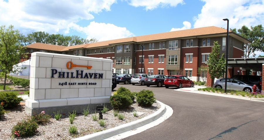 PhilHaven in Wheeling celebrates its grand opening Monday. The 50-unit housing development provides apartments for people with disabilities and those previously homeless.