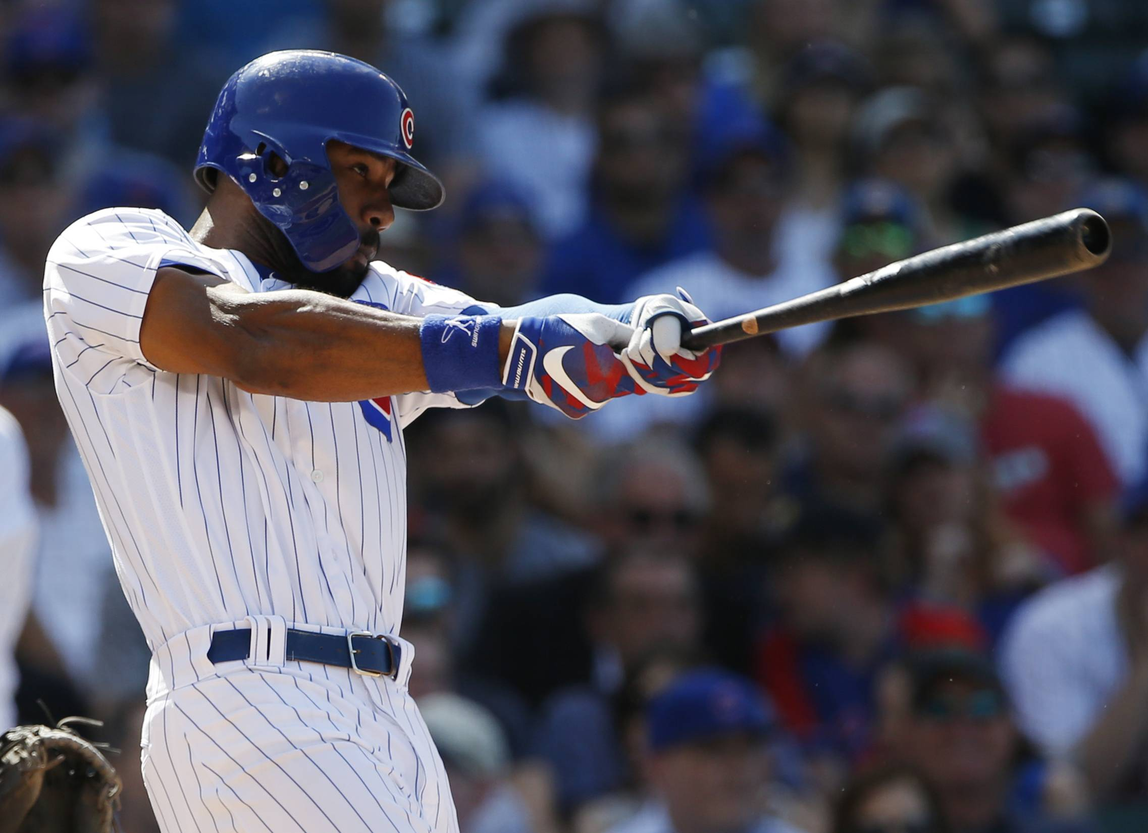 A hand abrasion will be keeping Chicago Cubs outfielder Jason Heyward on the disabled list a little longer. (AP Photo/Nam Y. Huh)