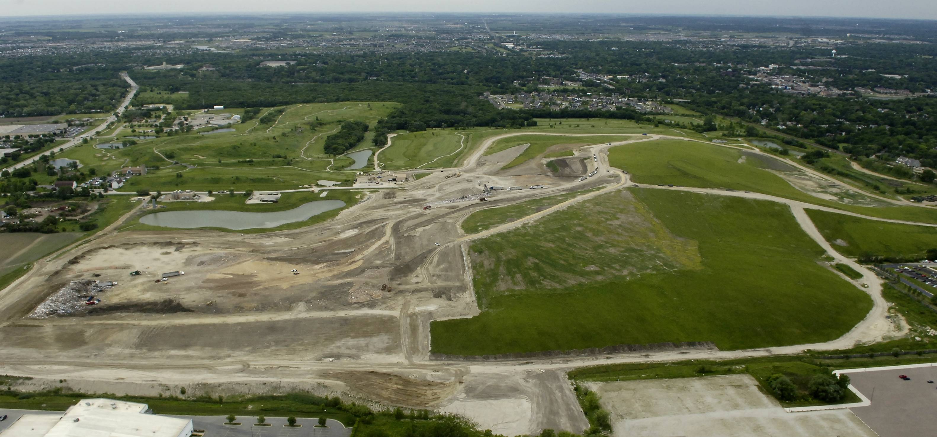The closed Settler's Hill landfill in Geneva could be home to a cross-country course that could benefit local high school and college teams.