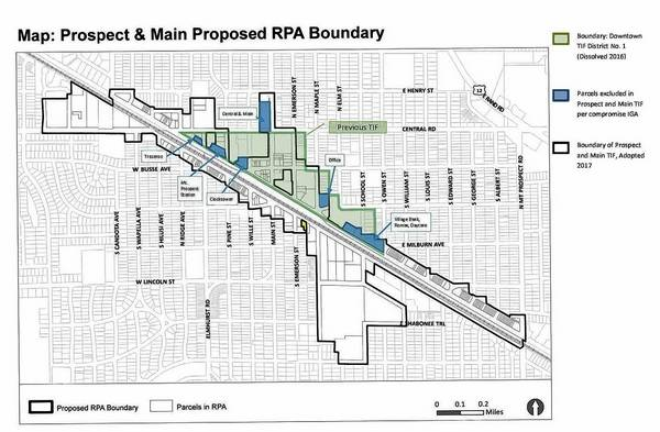 Mt. Prospect proposes compromise to resolve Dist. 214 TIF suit