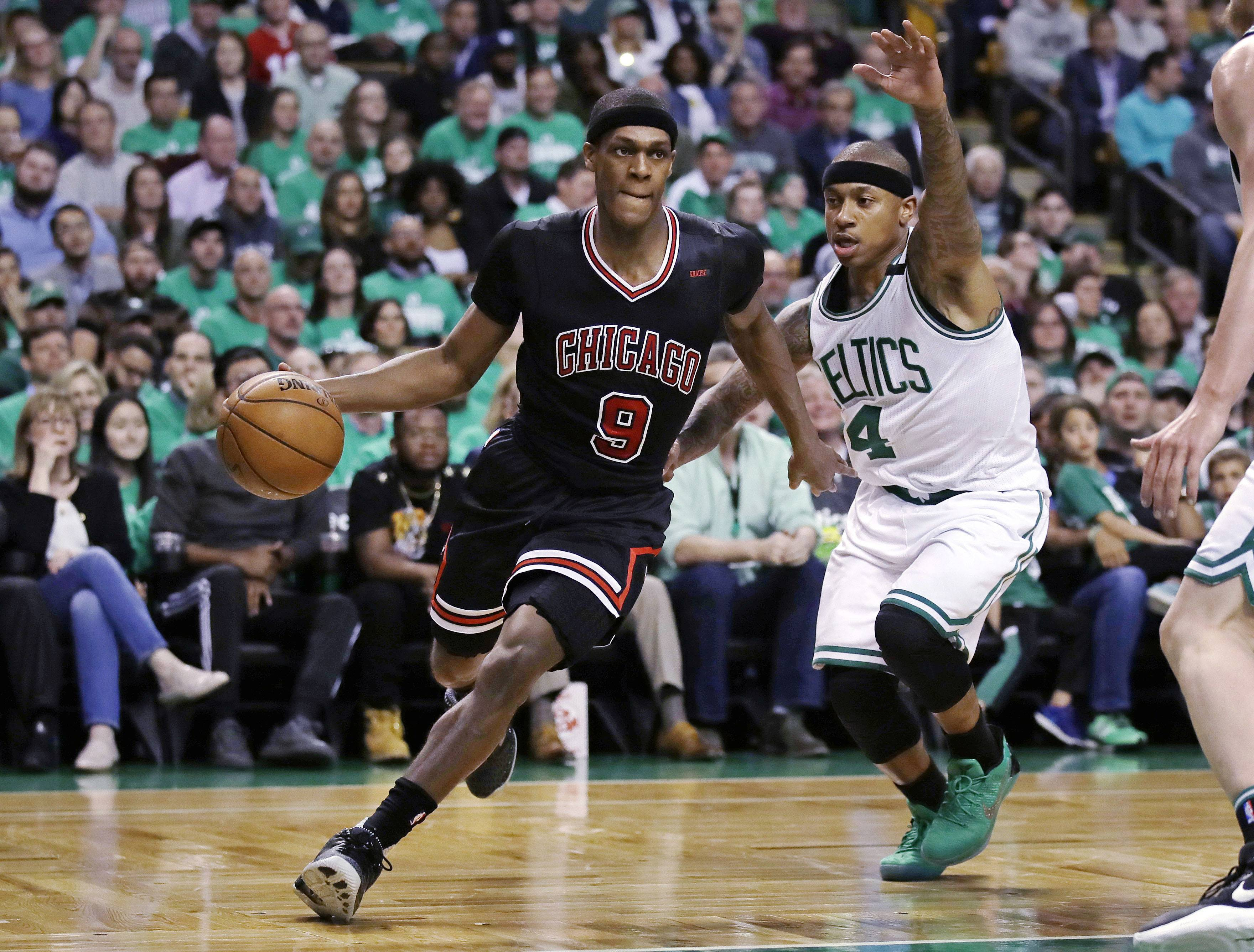 The Chicago Bulls have until Friday to pick up the option for guard Rajon Rondo. According to Rondo's agent, he's open to returning to mentoring the team's young players.
