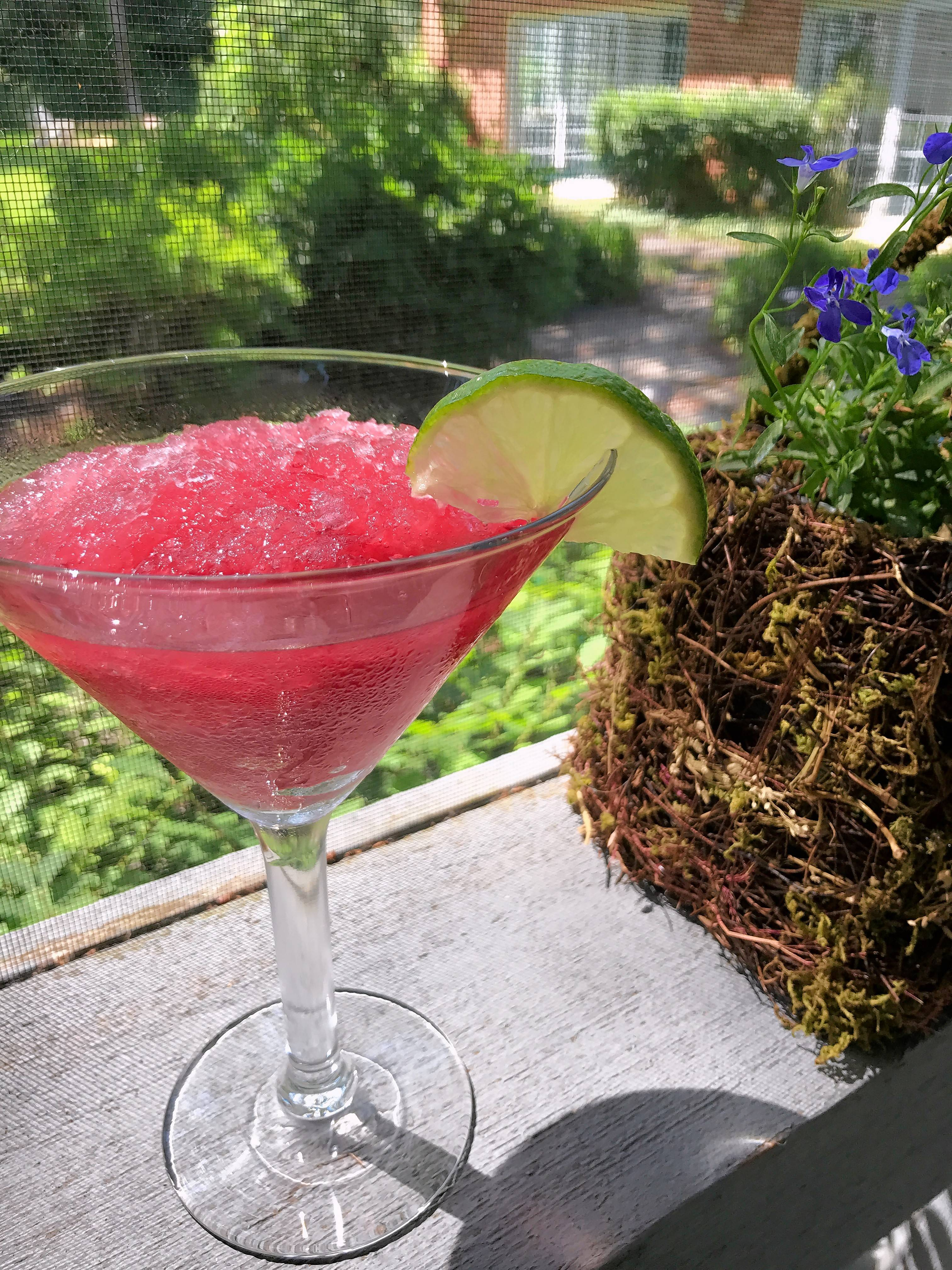 Make Ahead Frozen Cosmo or Martinis