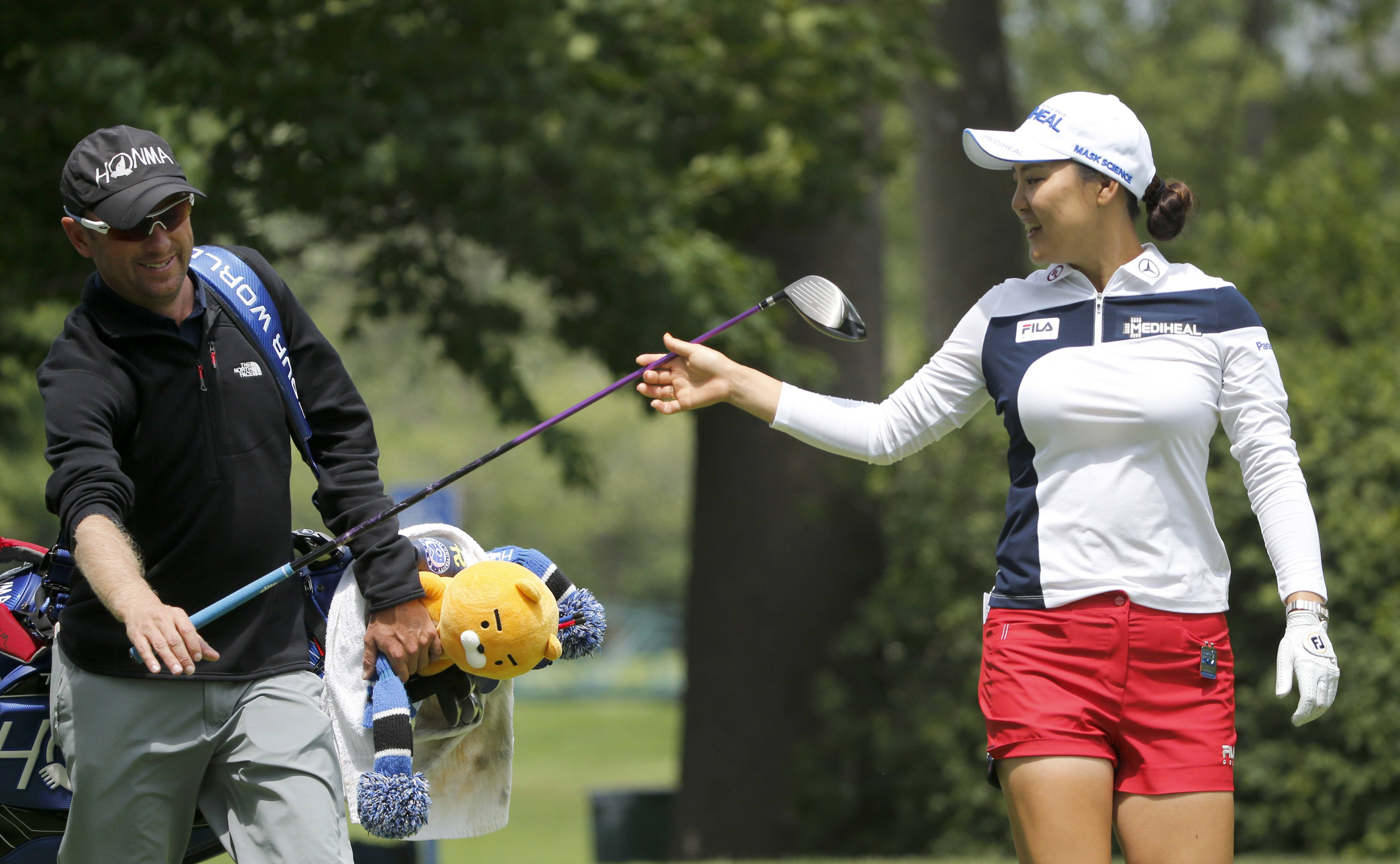 So Yeon Ryu of South Korea is the new No. 1 ranked player on the LPGA Tour. Ryu took part in a practice round Wednesday to prepare for the Women's PGA Championship at the Olympia Fields Country Club.
