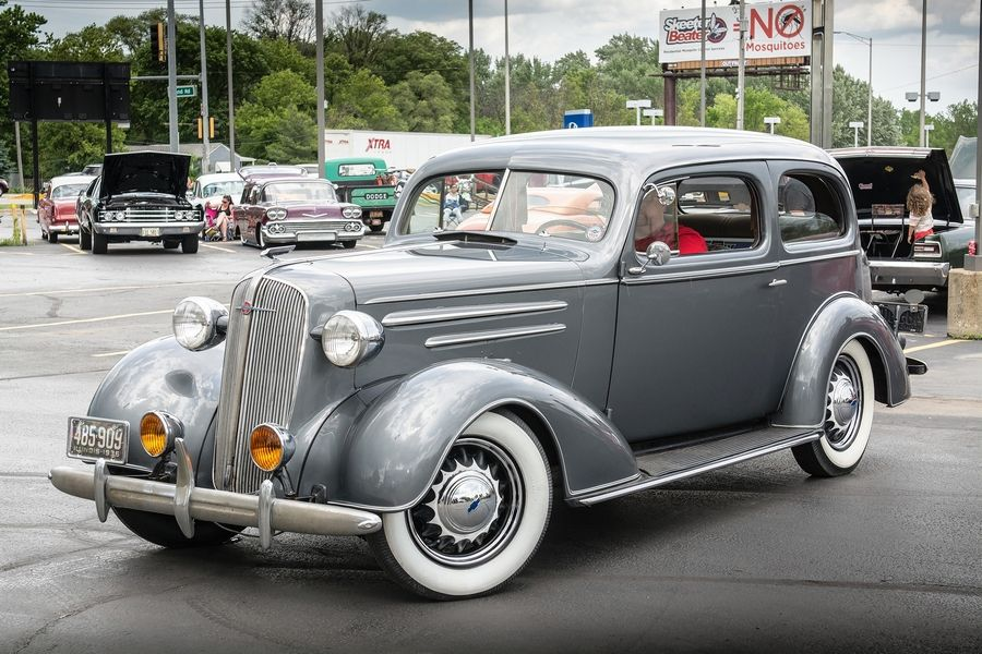 History just as much a part of 1936 Chevy as its turn signals