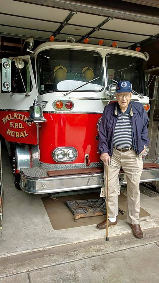 Saying goodbye to firefighter who was part of Palatine history