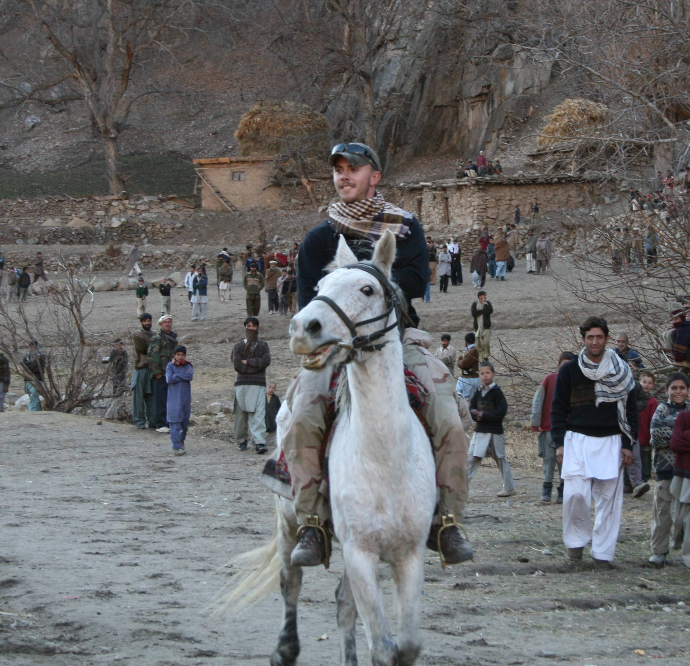 U.S. Army Staff Sgt. Robert Miller learned the native language of Pashto and led Afghan forces into battle.