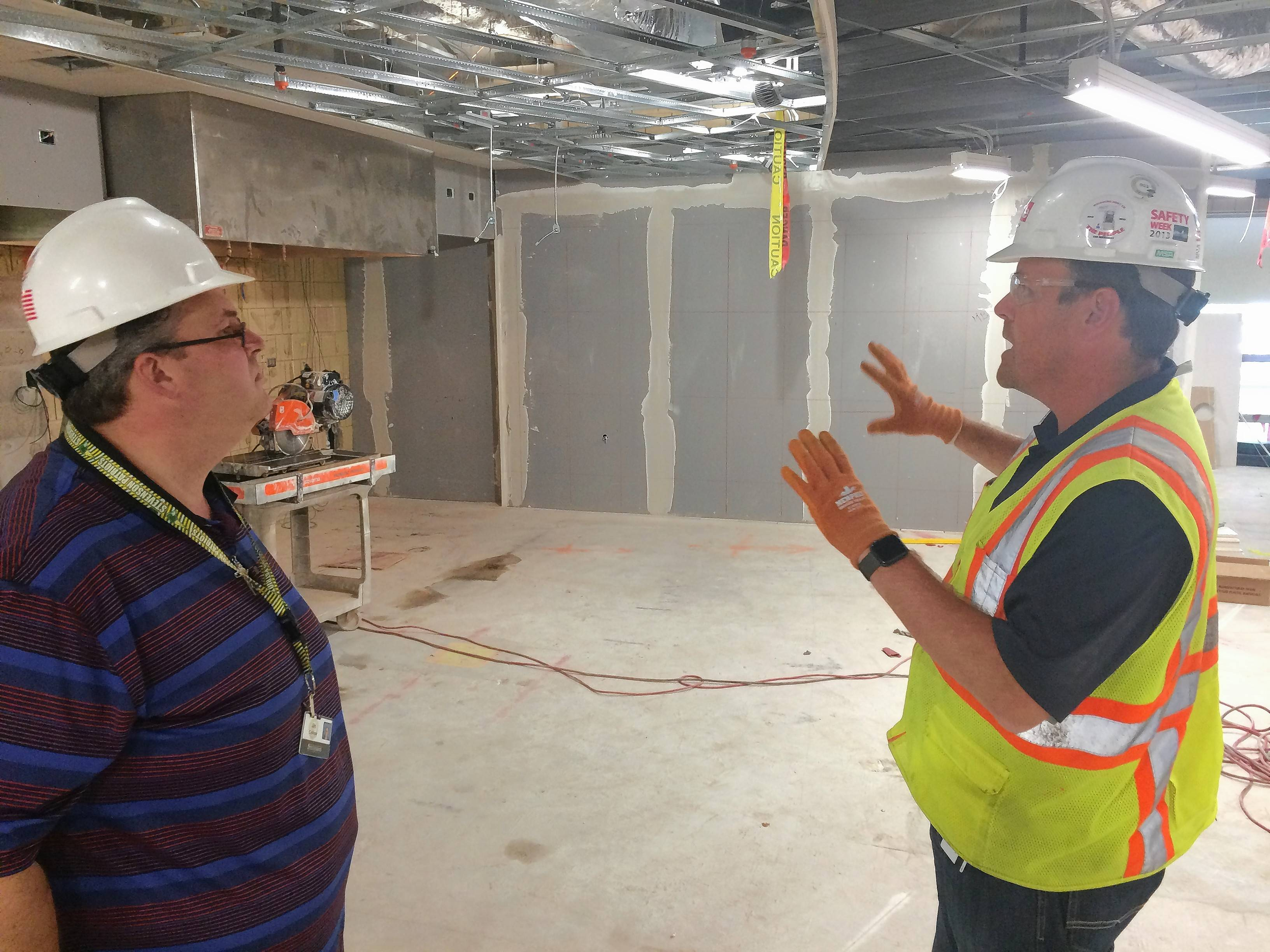 $4.7 million in projects on Stevenson High underway