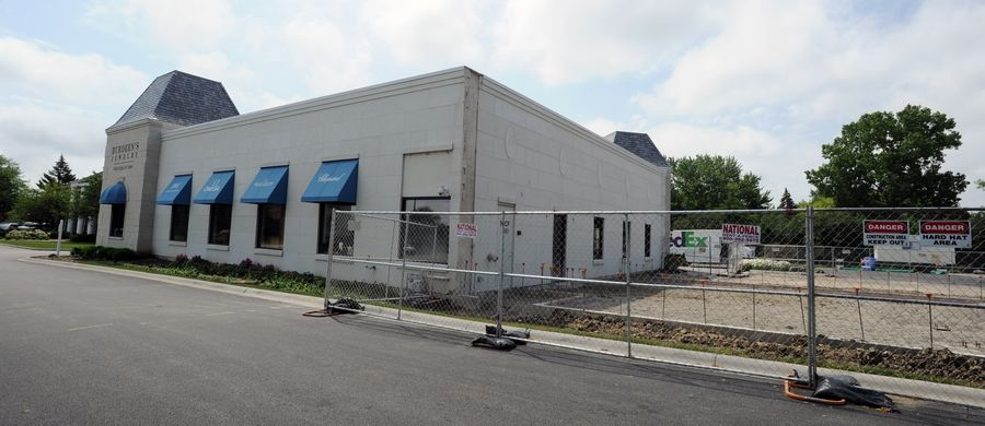 Burdeen's Jewelry in Buffalo Grove is undergoing an expansion project which will add 3,000 square feet to its store.