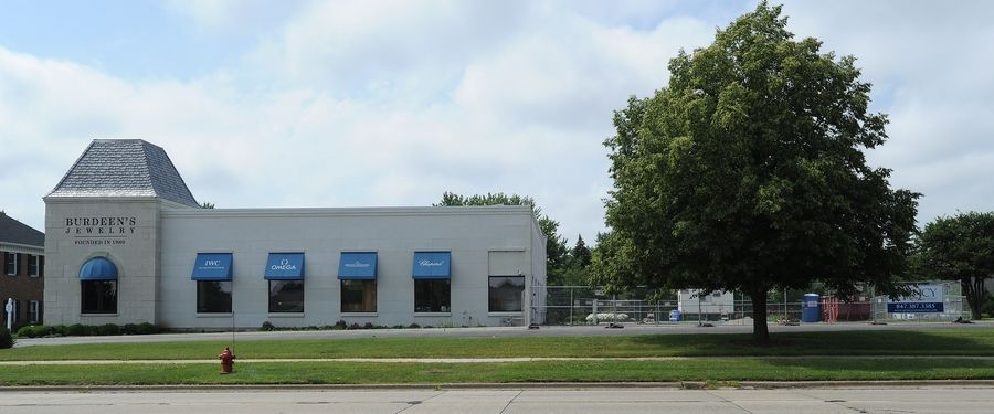 Burdeen's Jewelry in Buffalo Grove is expanding. The project should be complete by November.