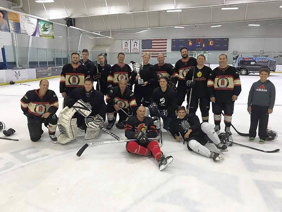 Light the Lamp Brewery was the top team fundraiser at the recent Pucks for Autism event, raising $2,160 for the SEDOL Foundation.