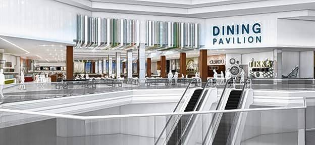A Rendering Of The Planned 820 Seat Dining Pavilion On Upper Level
