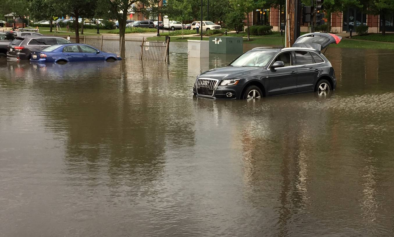 Northern Cook County suburbs fight flooding