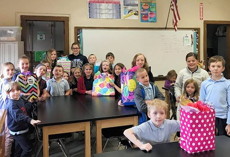Mighty Titans 4-H Club of Kane County provides birthday bags to the Community Crisis Center in Elgin.