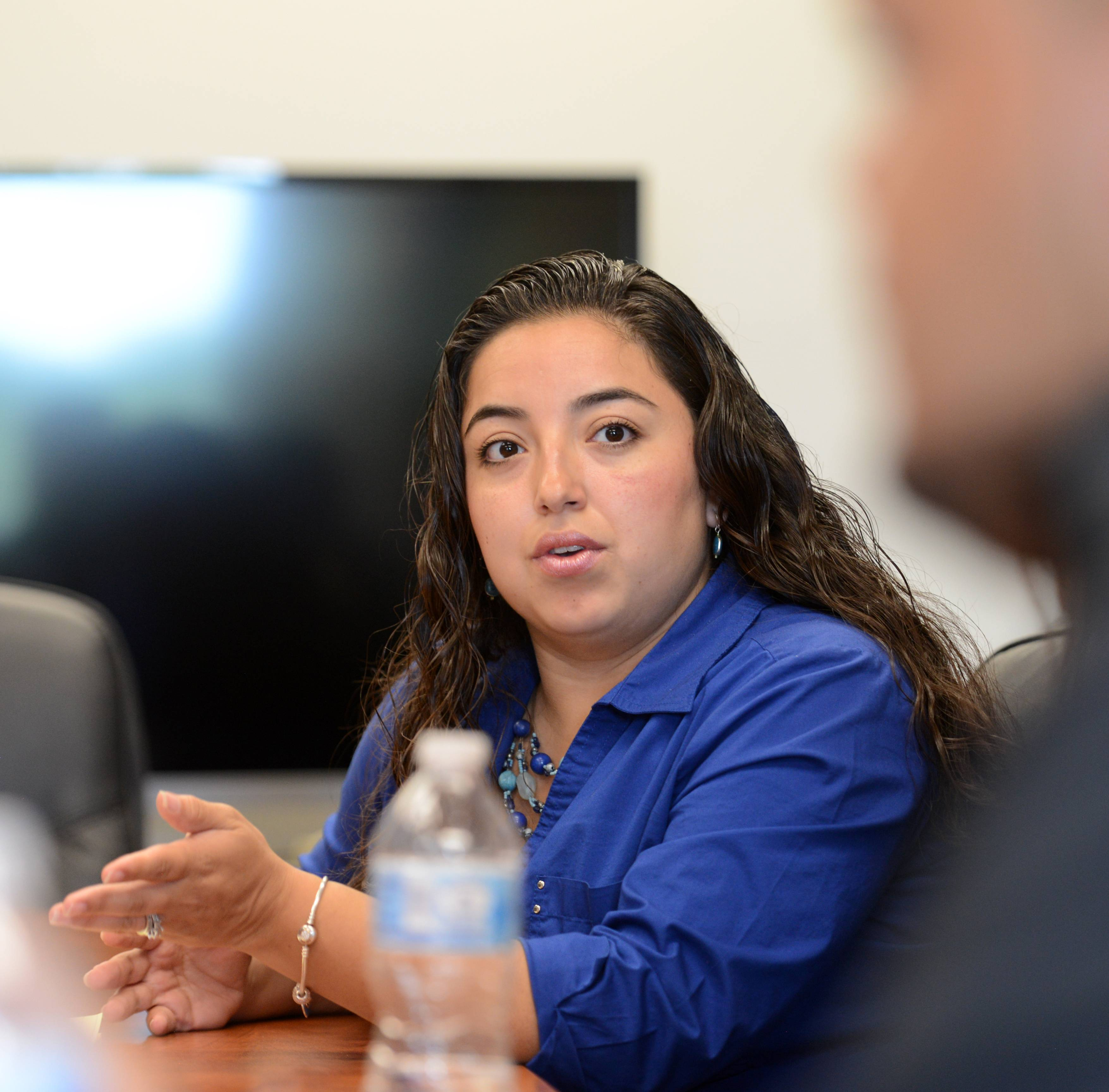 Maria Casas is the program coordinator for CASA Kane County, which needs more Spanish-speaking Latino volunteers.