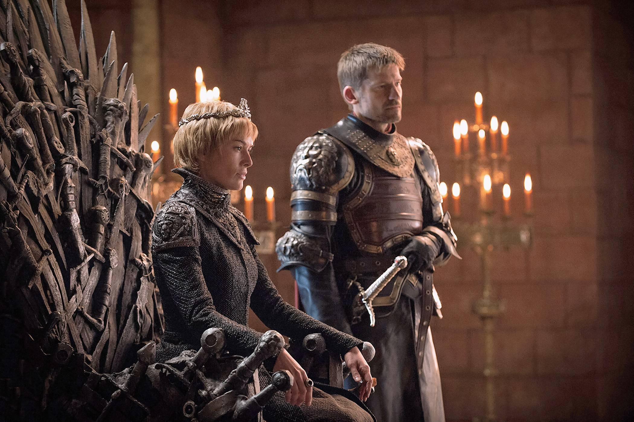 "In the return of HBO's ""Game of Thrones,"" Cersei Lannister (Lena Headey) relishes her role as the newly installed Queen in King's Landing alongside her brother Jaime (Nikolaj Coster-Waldau)."