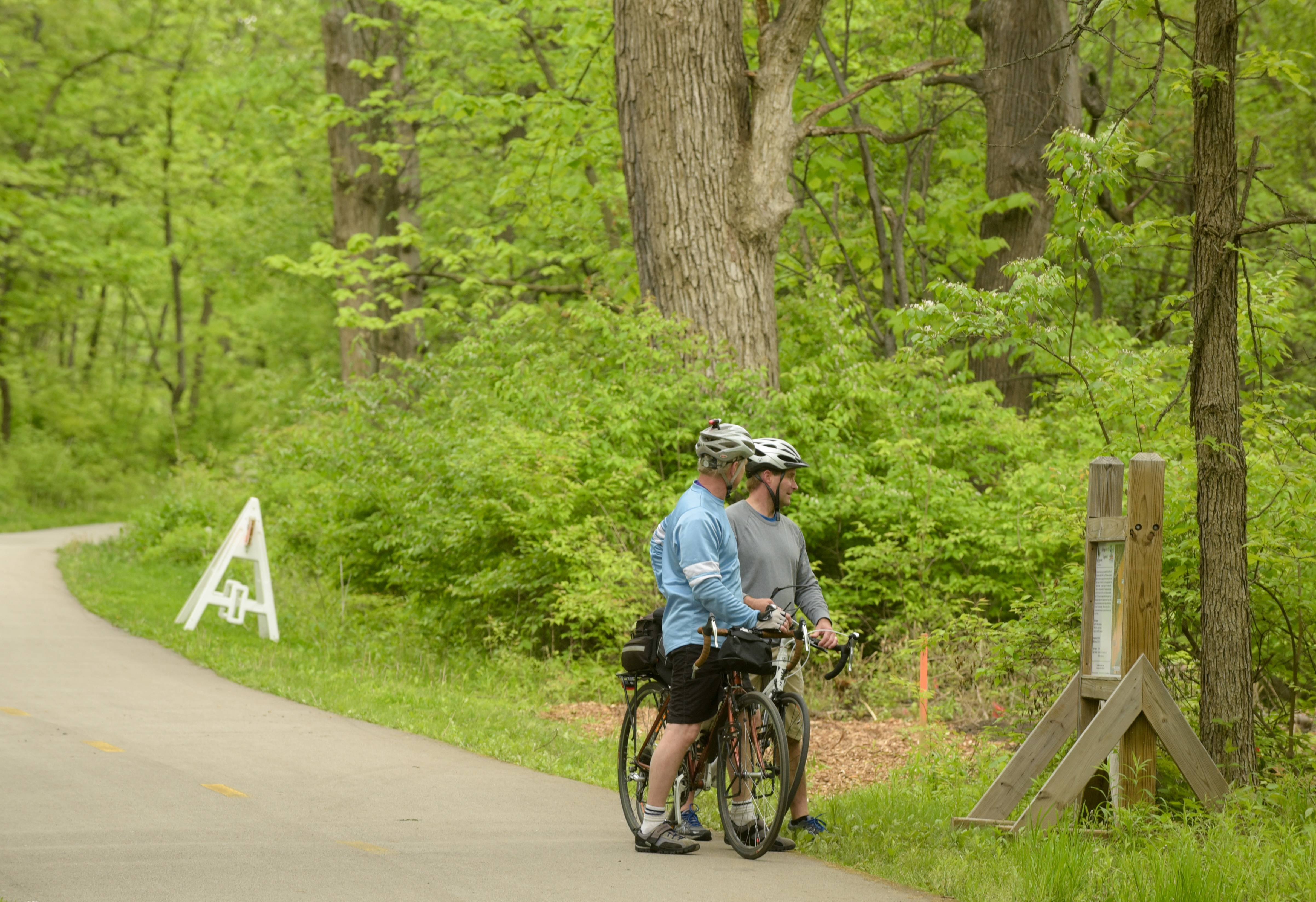 Roughly two-thirds of respondents to the Naperville Park District's community interest and opinion survey said they have a need for outdoor trails, but the survey also found the district's current network of trails largely meets the need.