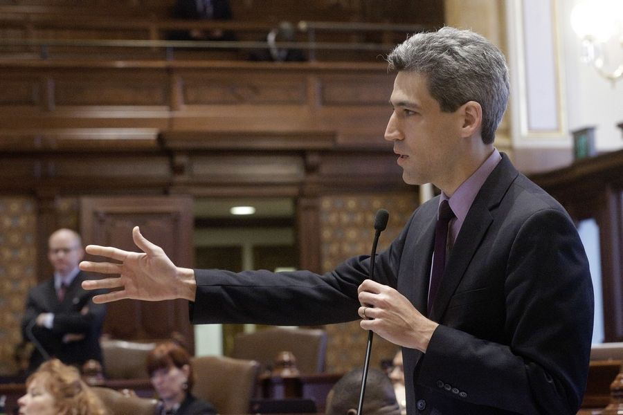 Illinois Sen. Daniel Biss of Evanston