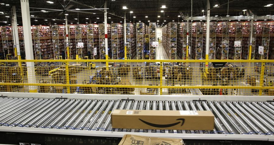 Amazon recently opened several new warehouses and fulfillment centers around the area similar to this one in Romeoville. The retail giant is now aiming to move into Crest Hill in October.