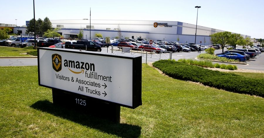 Amazon recently opened several new warehouses and fulfillment centers around the area similar to this one in Romeoville.