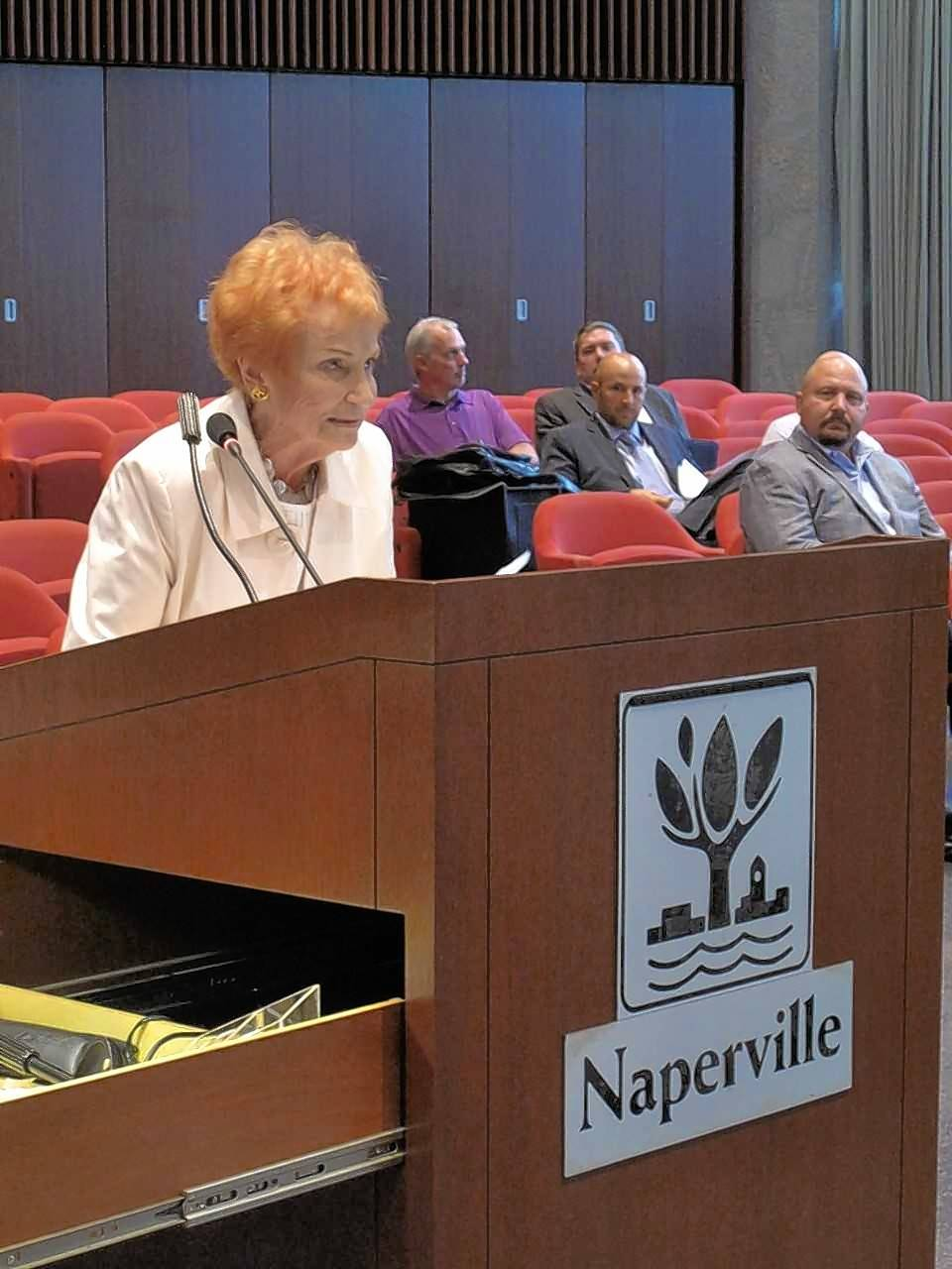 Pleas to save old Naperville library come to council