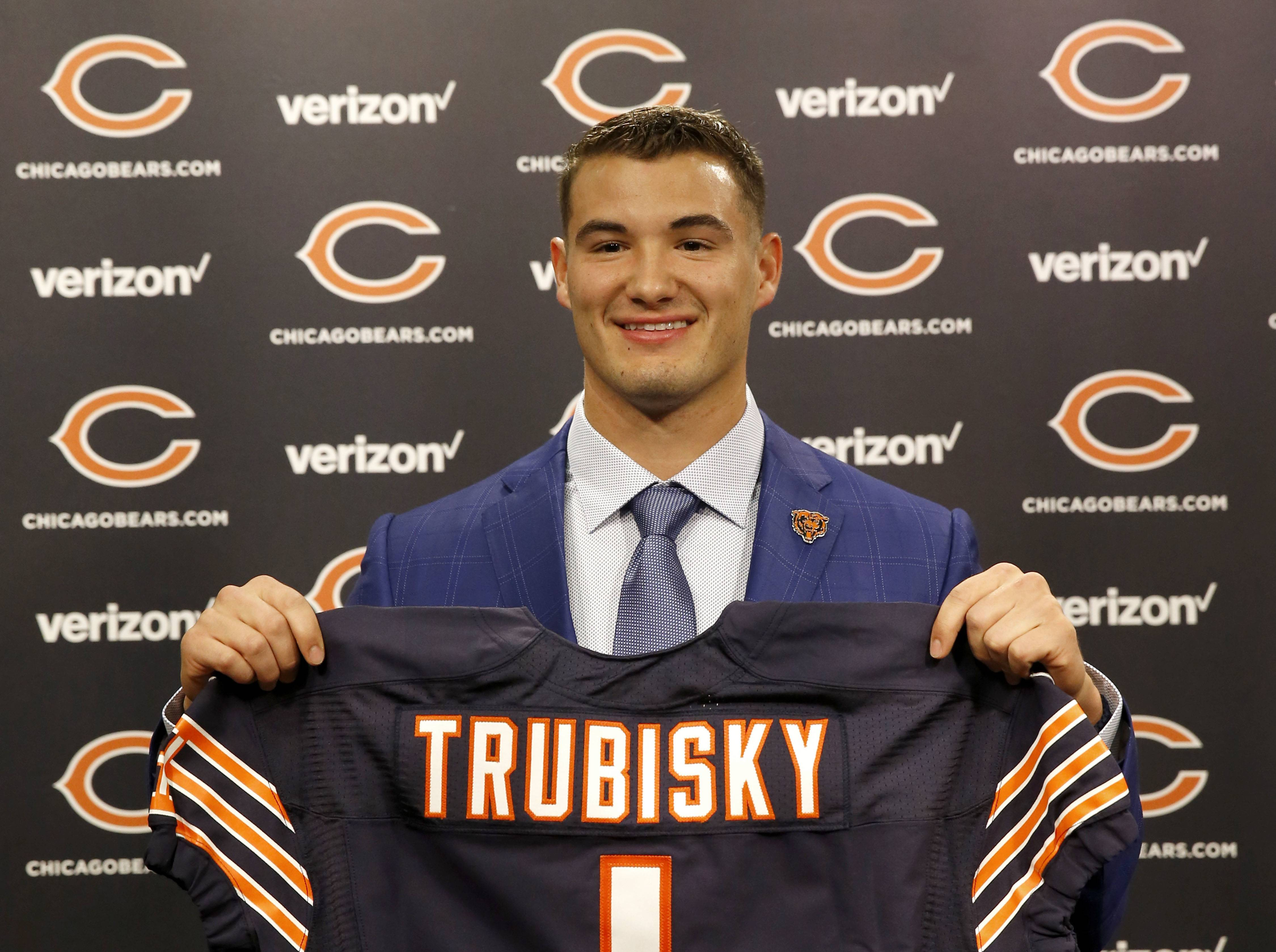 The Chicago Bears have signed to a four-year deal with first-round draft pick quarterback Mitchell Trubisky, team officials announced Wednesday.