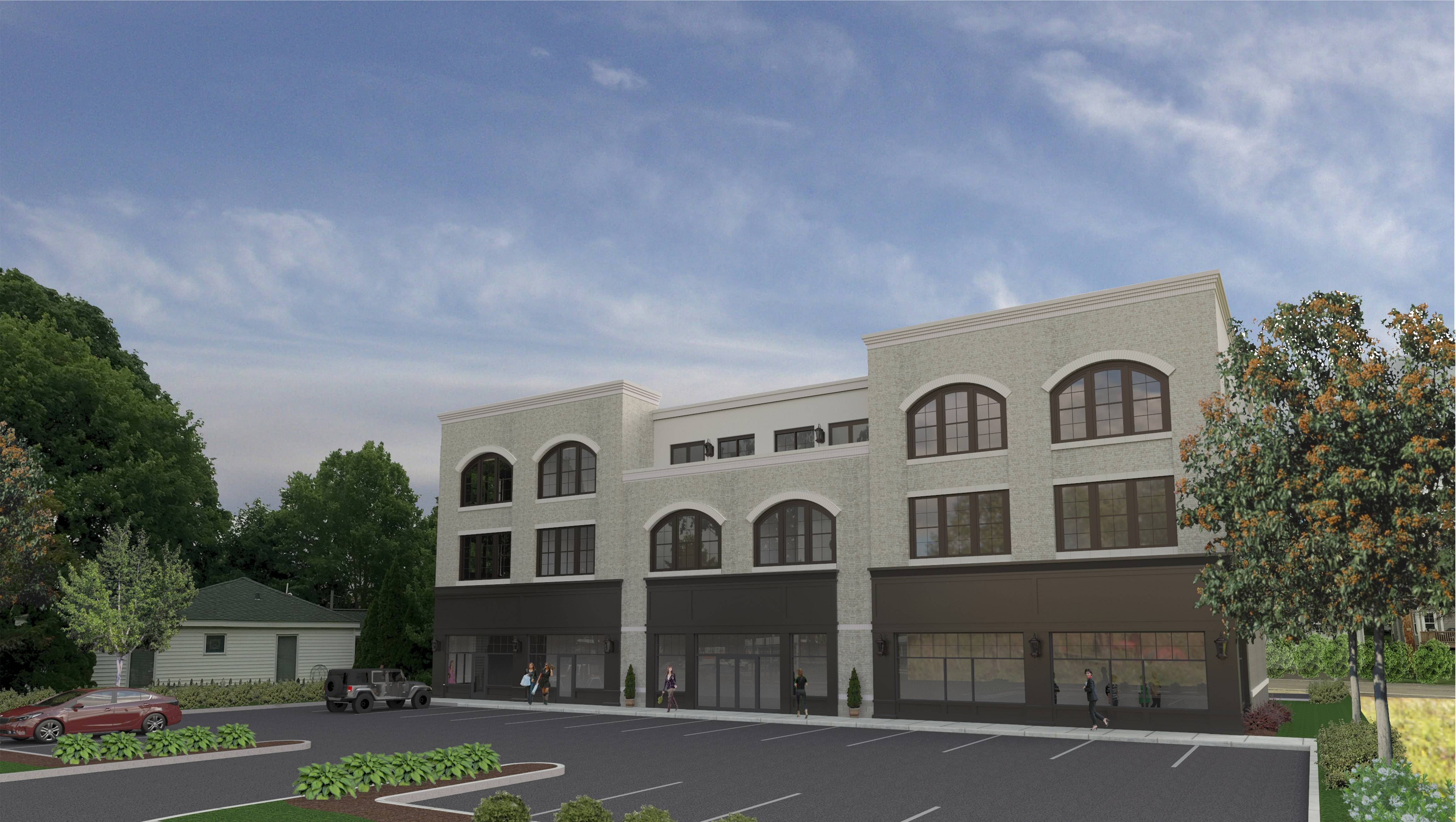A retail and apartment building called The Washington has been approved to be built on a vacant lot on the east side of Washington Street at 7th Avenue north of downtown Naperville near the 5th Avenue Metra station.