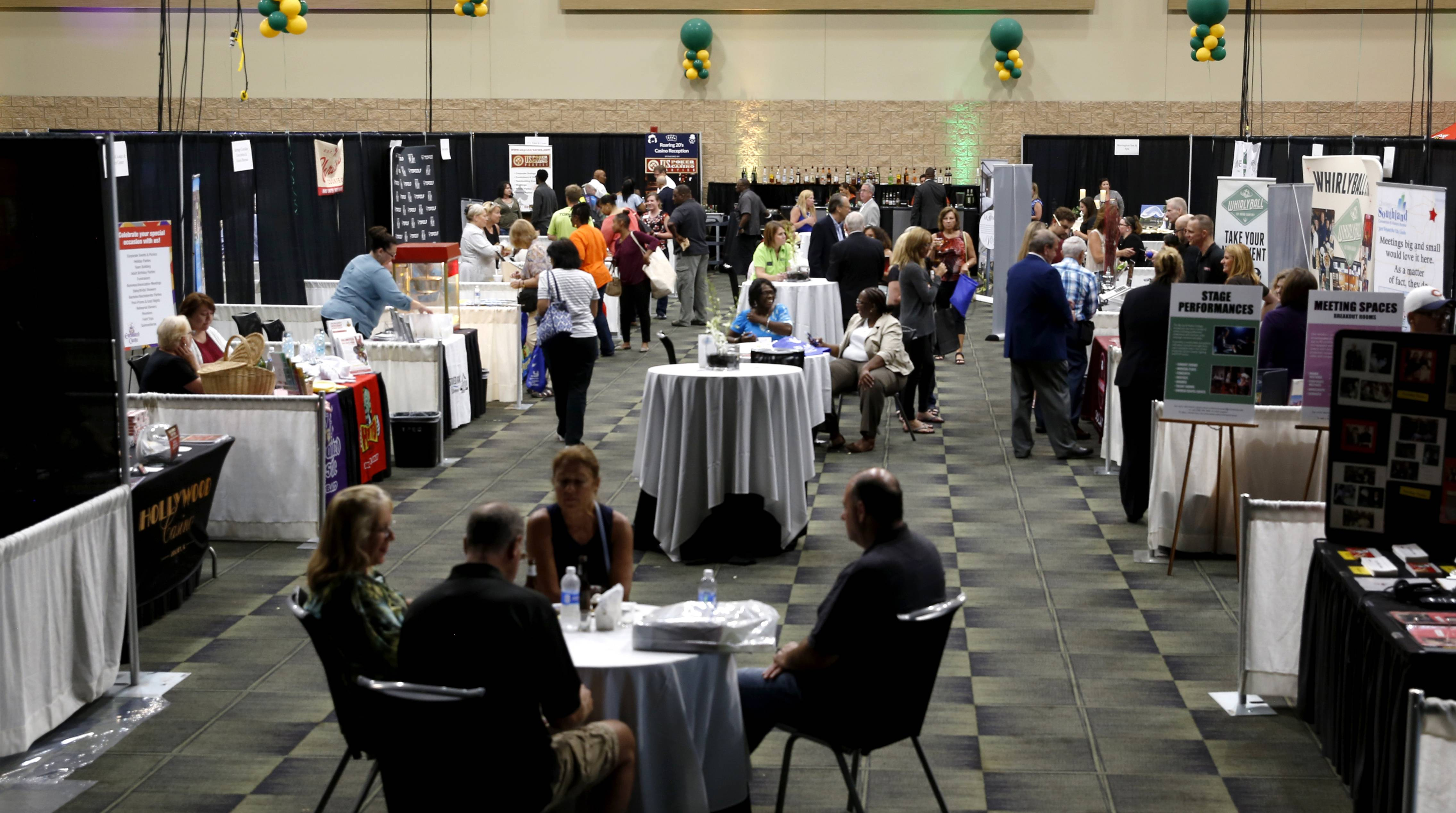 DanielWhite/dwhite@dailyherald.comThe BizLedger Hospitality Expo at the Tinley Park Convention Center served up various business opportunities to the Chicago Southwest communities.