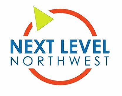 Logo of Next Level Northwest, a new business accelerator in the Northwest suburbs.