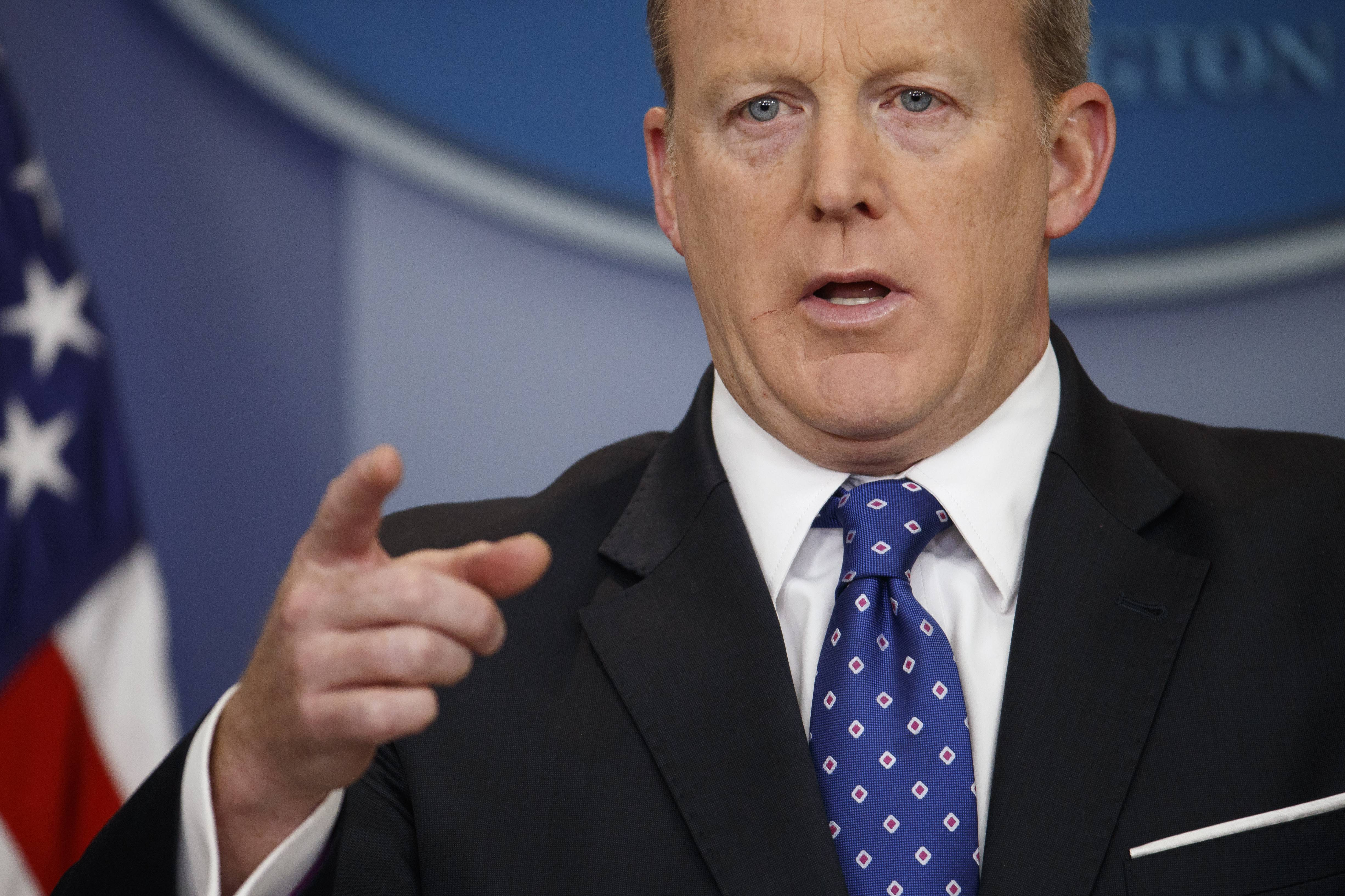 White House press secretary Sean Spicer has resigned over hiring of new communications aide.